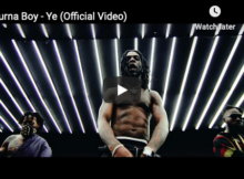 Burna Boy Video, vibefm